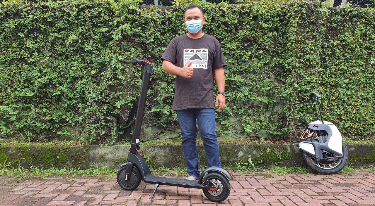 Malaysia's Leading E-Scooter Shop | Electric Scooter and more - Jeffri- HX x7 E Scooter