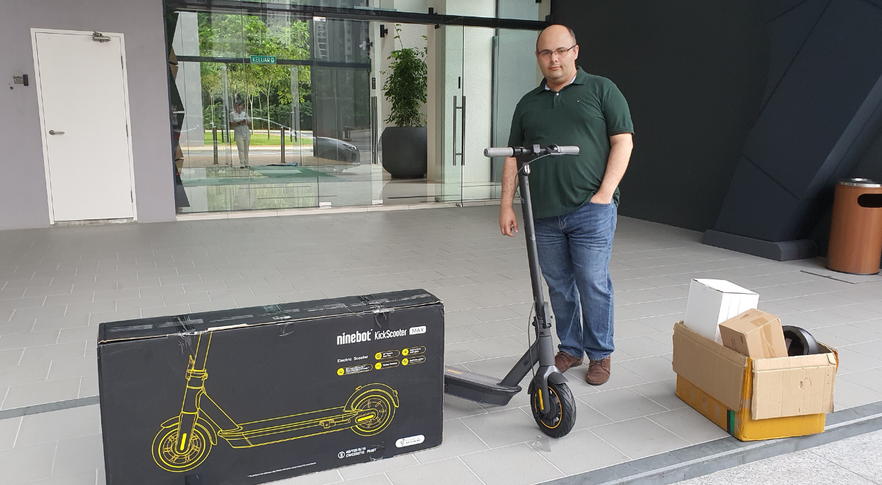 Malaysia's Leading E-Scooter Shop | Electric Scooter and more - Mohammad Mahboubian - Segway MAX