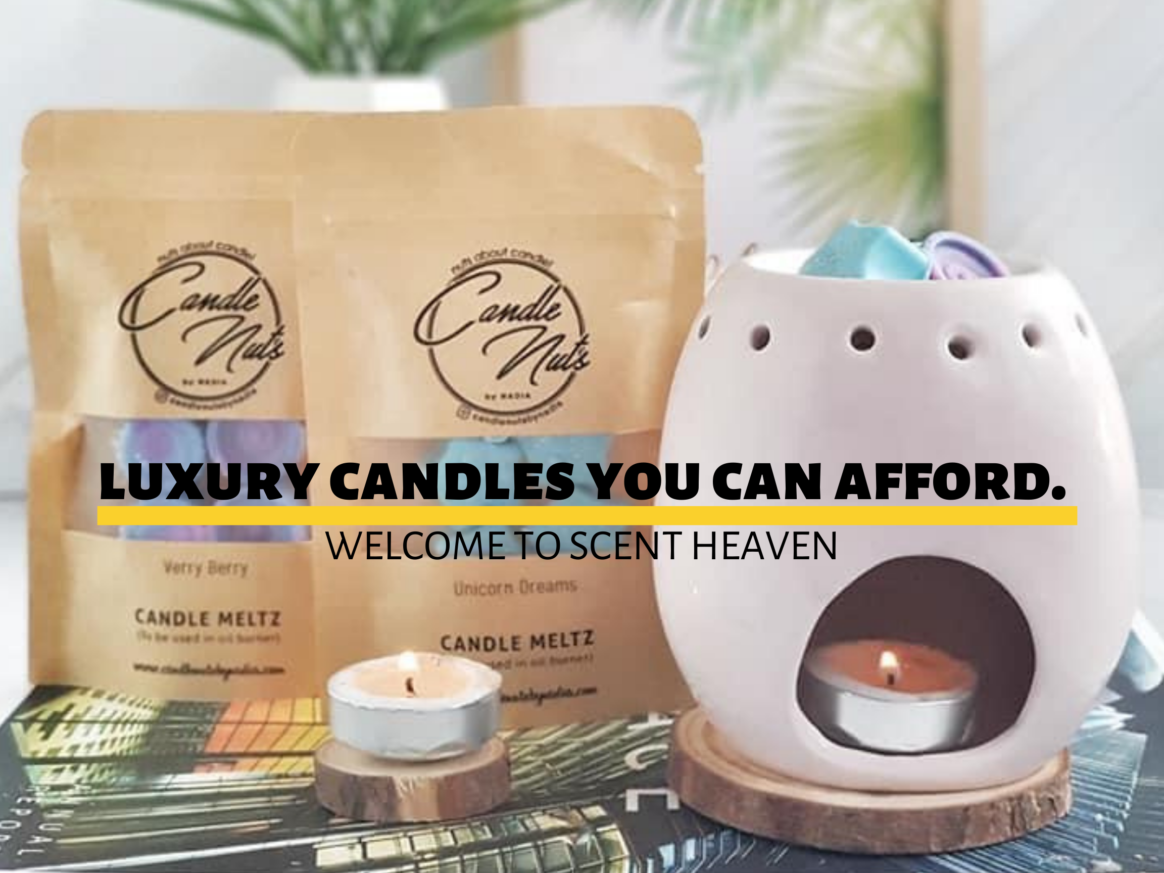 CANDLENUTSBYNADIA - Best scented Candles Meltz in MALAYSIA! |