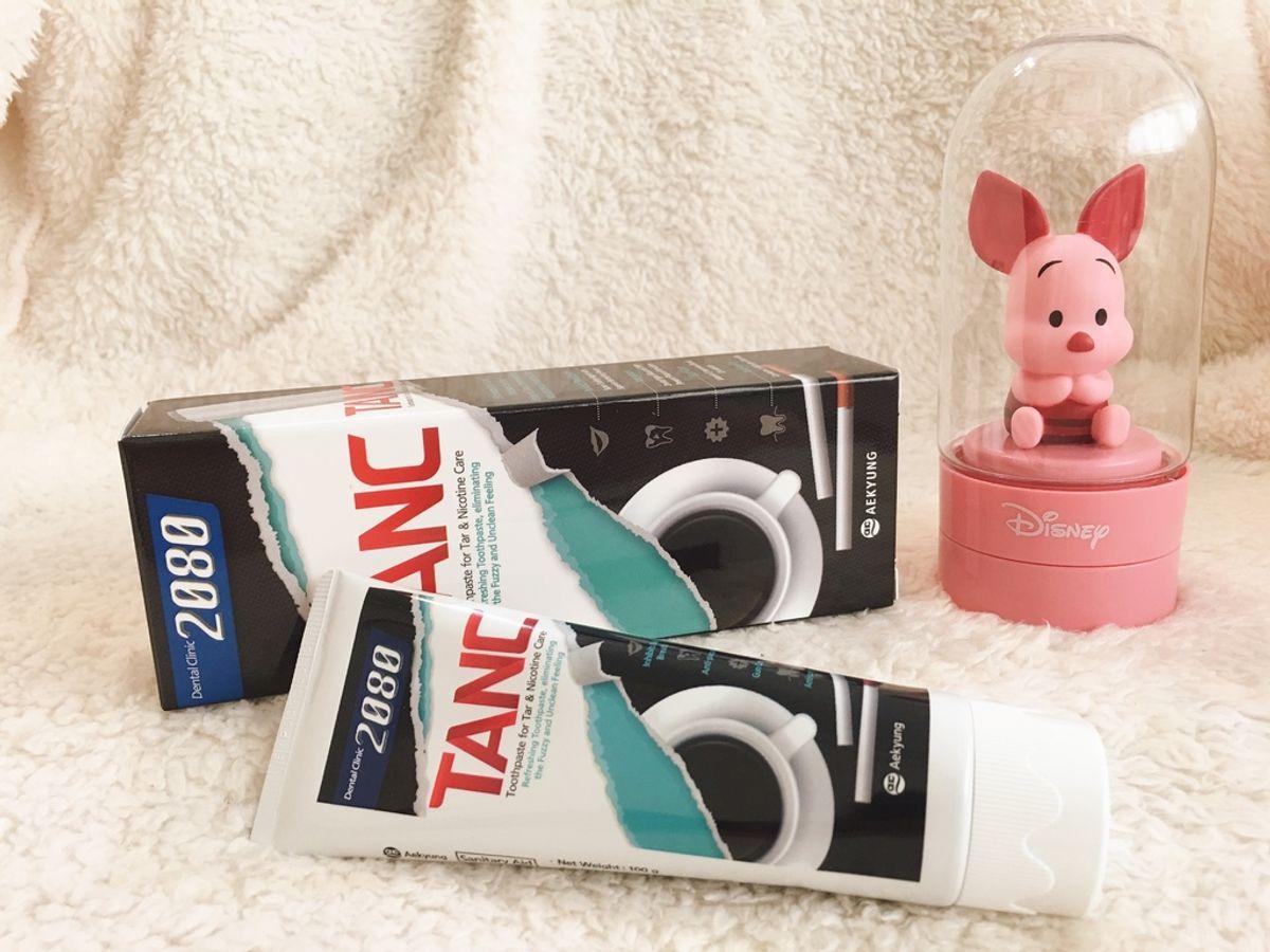 黃板牙救星 超濃薄荷味>韓國2080 TANC美白牙膏