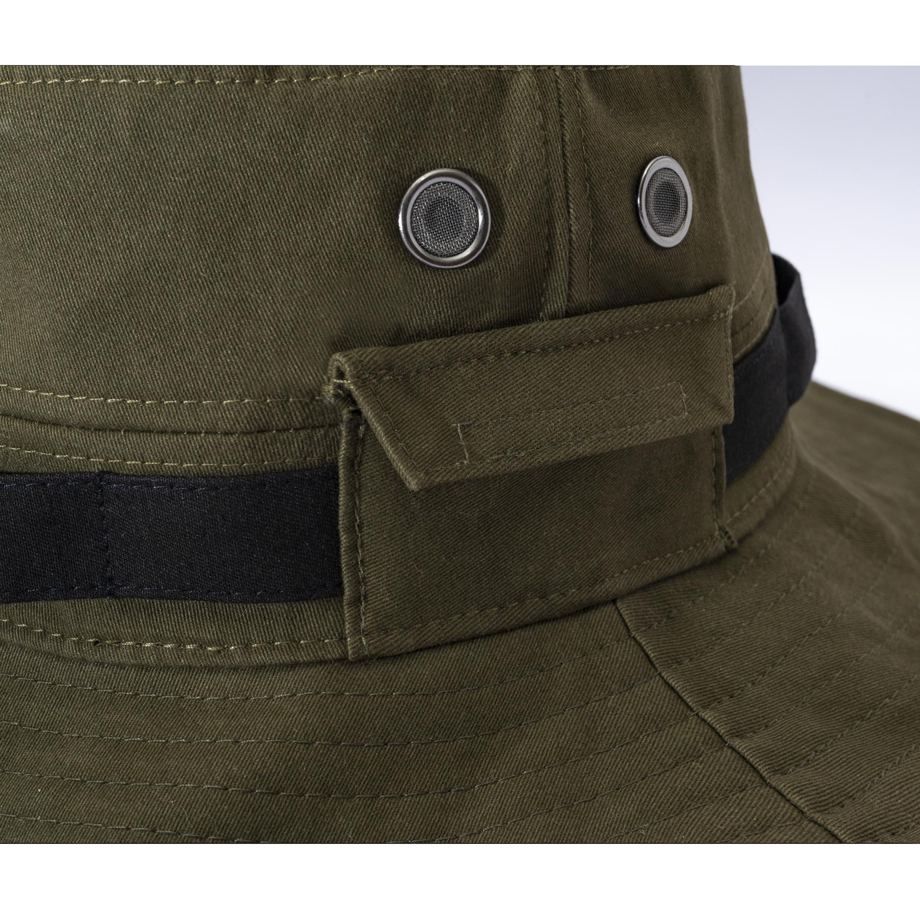 BADGE Reflective BUCKET HAT綠03.png