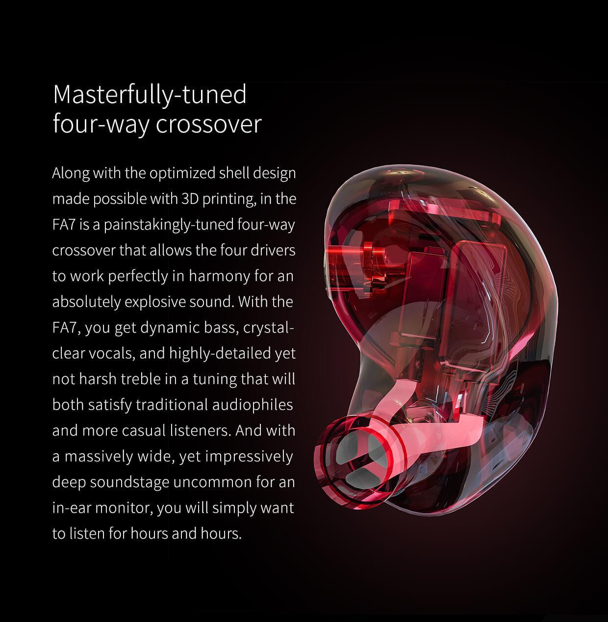 FiiO FA7 Quad Driver In-Ear Monitors