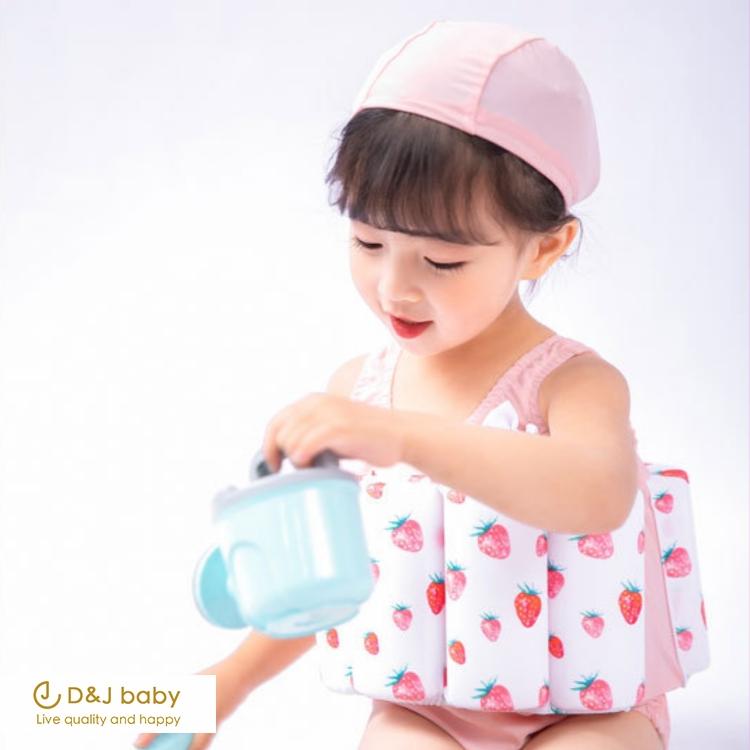 女童浮水背心泳裝 - D&J baby