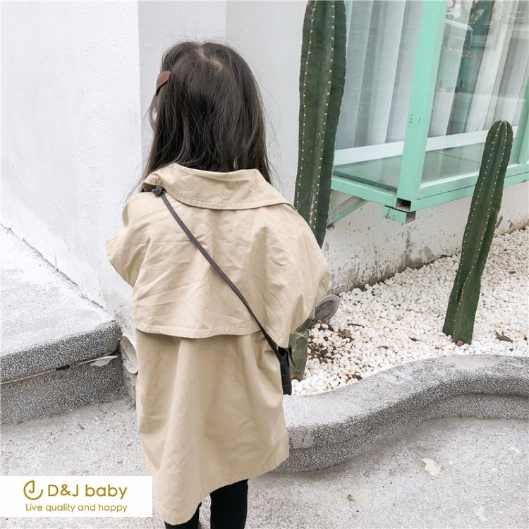 雙排扣風衣外套 - D&J baby.jpg