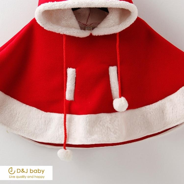 聖誕麋鹿披風斗篷 - D&J baby
