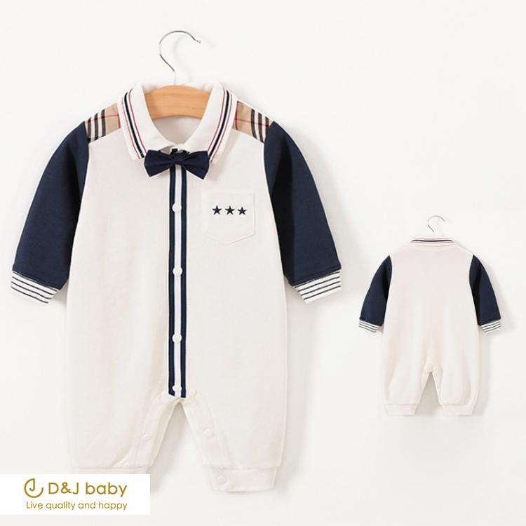 紳士長袖連身包屁衣 - D&J baby.jpg