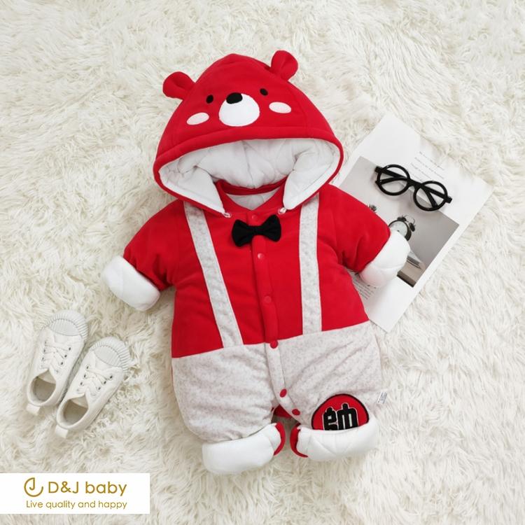 可愛動物加絨連身衣 - D&J baby.jpg