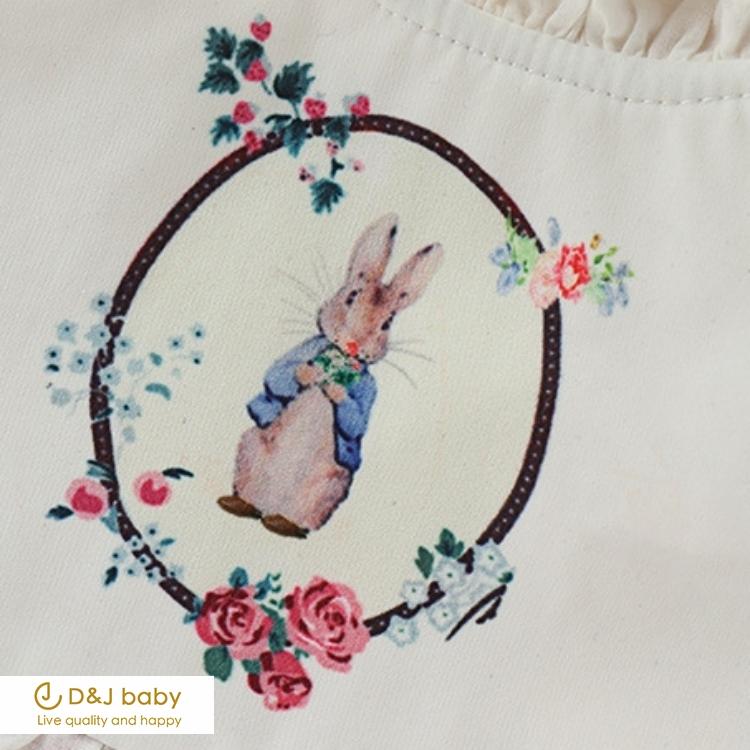 紅格加厚兔子包屁衣 - D&J baby.jpg