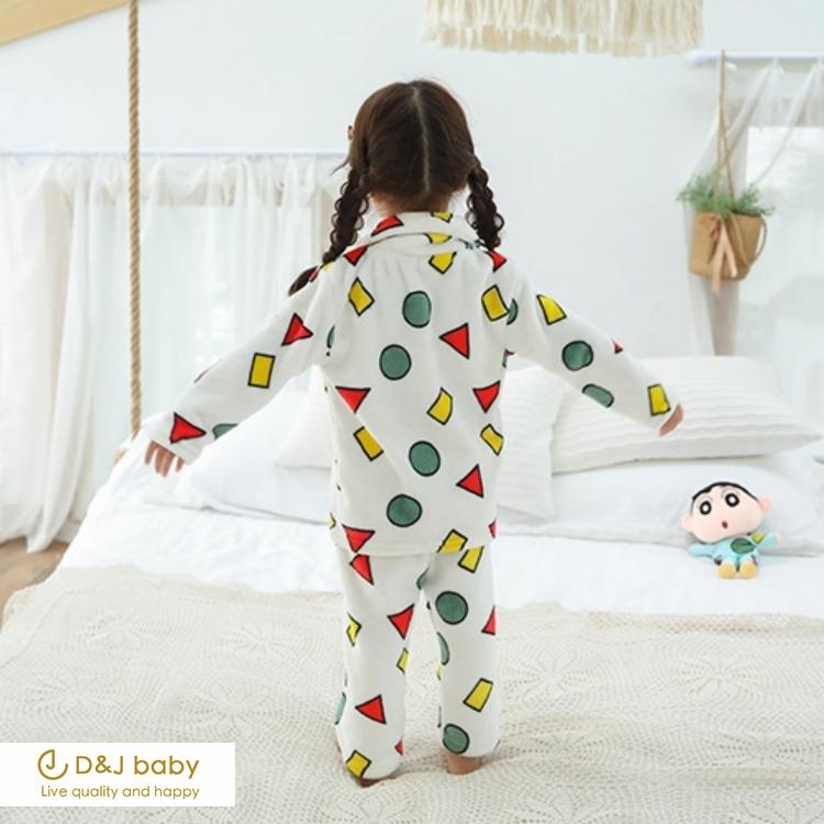蠟筆小新法蘭絨睡衣 - D&J baby