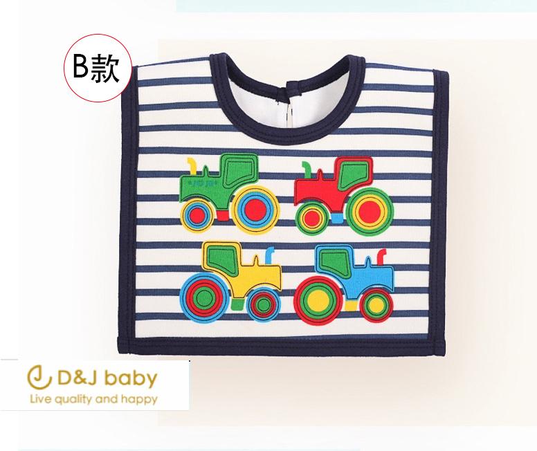 麵包超人車車圍兜口水巾 - D&J baby