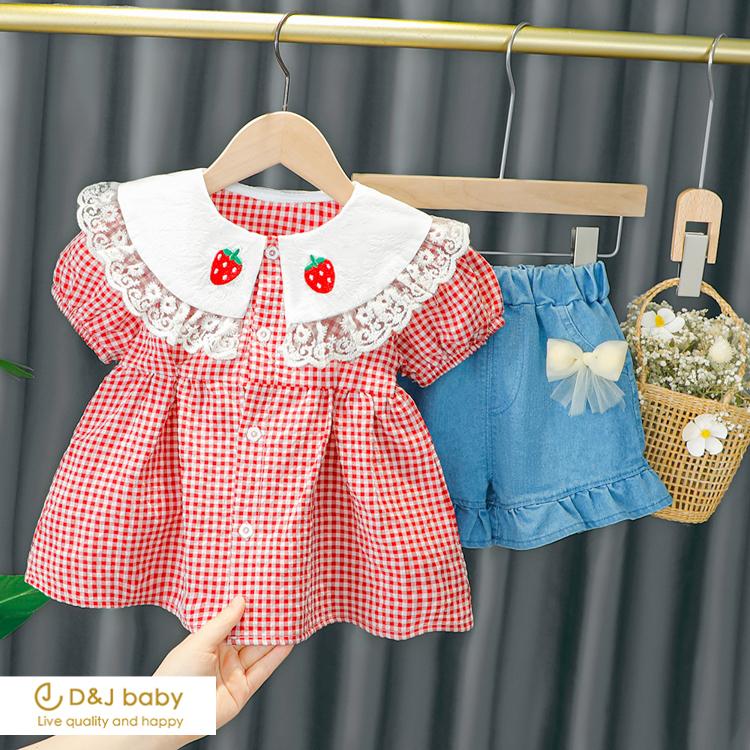 草莓花邊套裝 - D&J baby-26.jpg