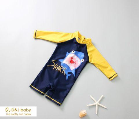 男寶連身鯊魚泳衣 - D_J baby-6.jpg