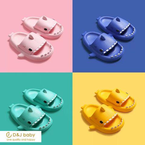 多色鯊魚拖鞋 - D_J baby-5.jpg