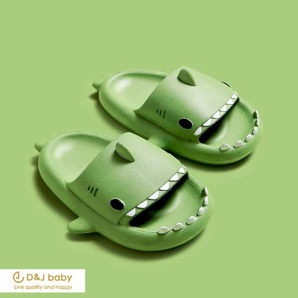 多色鯊魚拖鞋 - D_J baby-7.jpg