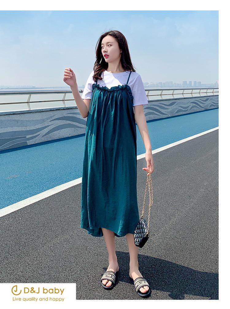 顯瘦兩件式套裝女裝洋裝孕婦洋裝大碼洋裝 - D_J baby-5.jpg