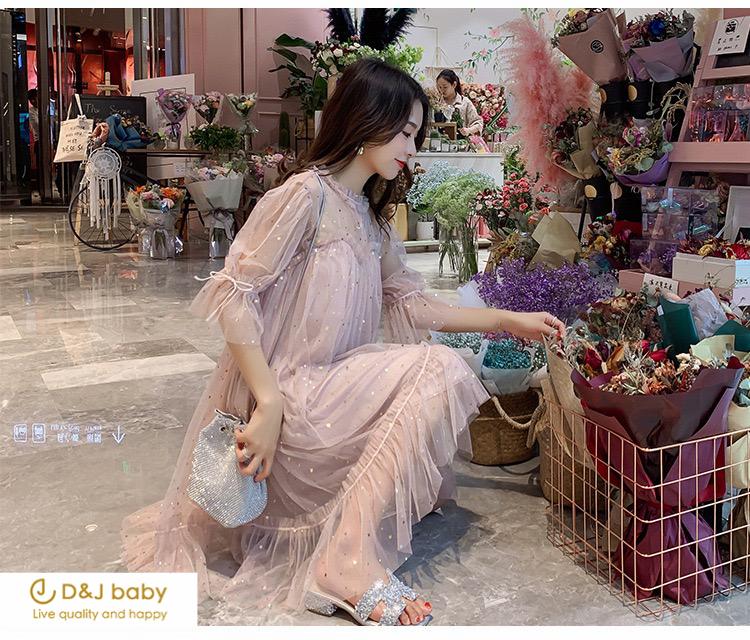 雪紡夢幻洋裝女裝孕婦洋裝大碼洋裝 - D_J baby-3.jpg
