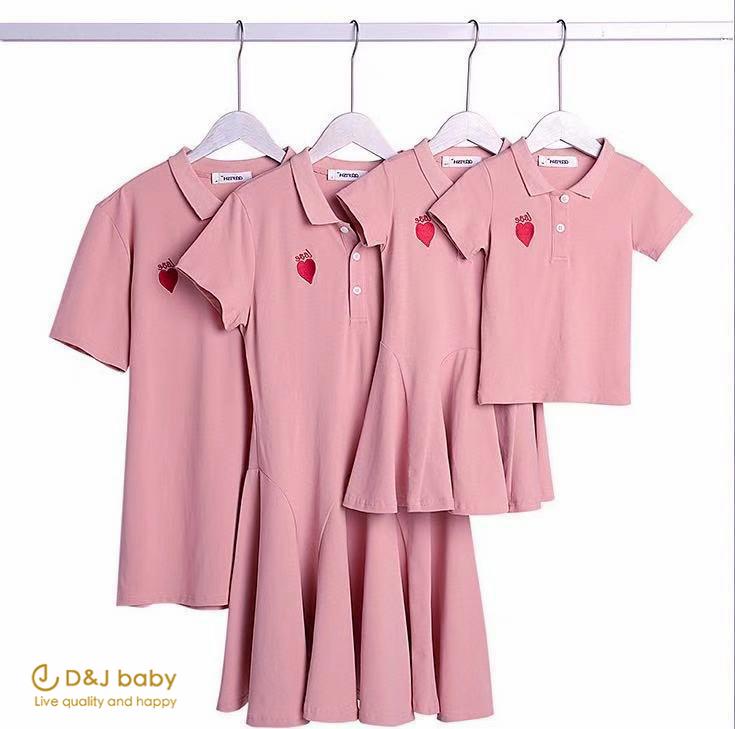 新款粉紅愛心親子裝 - D&J baby-1.jpg