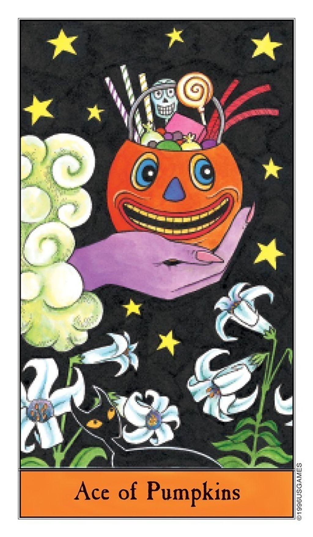 萬聖節塔羅Halloween Tarot in Tin4.jpg