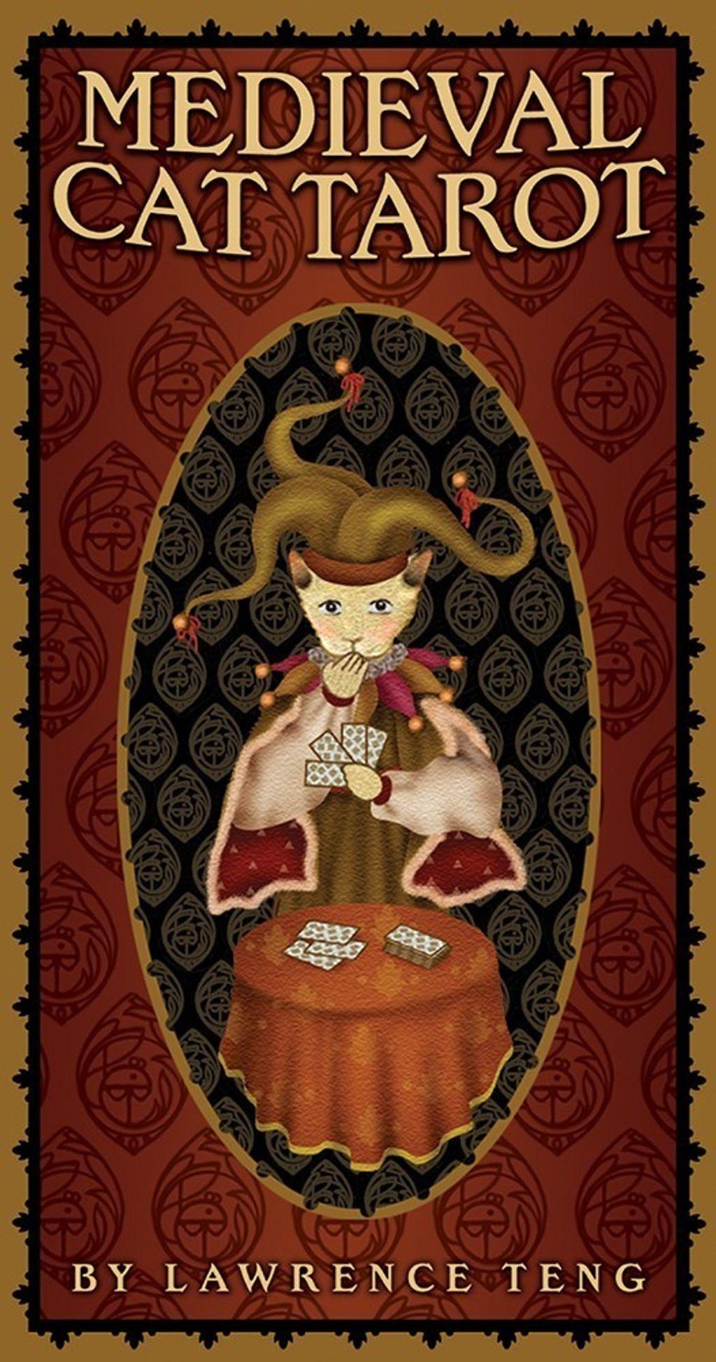 中世紀貓塔羅牌:Medieval Cat Tarot.jpg