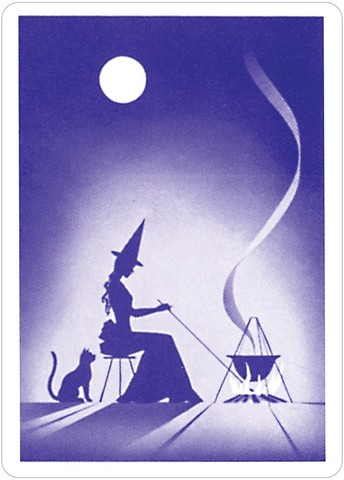 吉普賽女巫占卜撲克牌:Gypsy Witch® Fortune Telling Cards4.jpg
