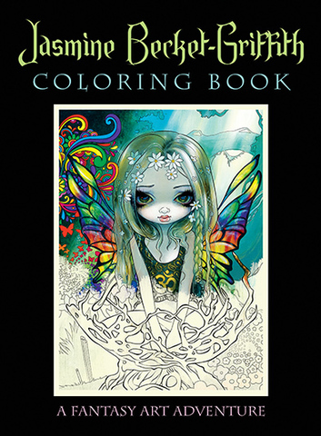 潔絲敏.葛里芬彩繪本: Jasmine Becket-Griffith Coloring Book.jpg