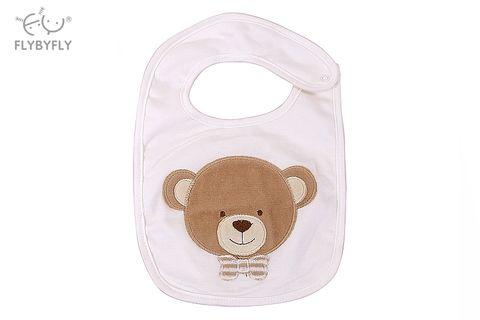 3D Bear Baby Bib (White).jpg