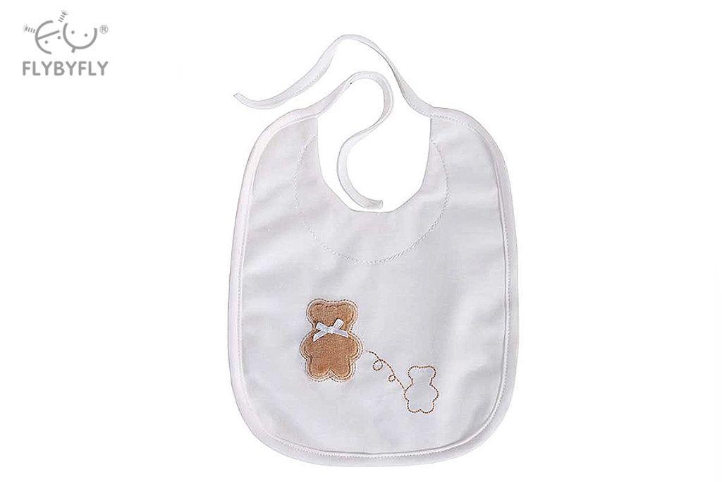 Mini Bear Baby Bib (White).jpg