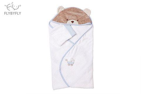 3D Bear Bath Hooded Towel (Blue) full.jpg