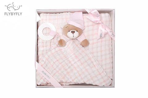 Blanket + Bear Handkerchief Set (Pink).jpg