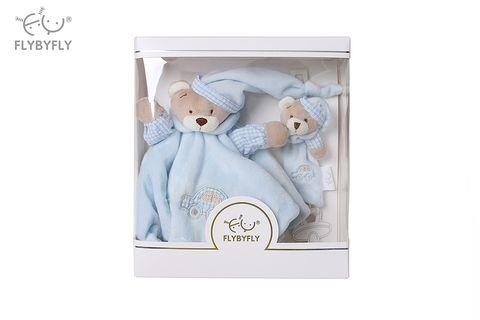 bear hand puppet and pacifier set- blue.jpg