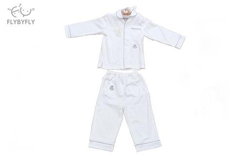 Kids' Popo Bear Pajama Set (White).jpg