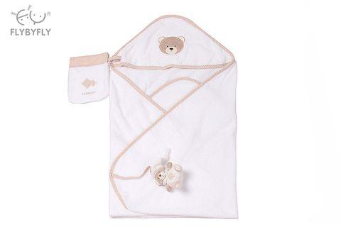 hooded towel + bear set beige.jpg