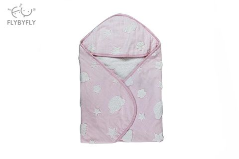 popo classic bath hooded towel - pink.jpg