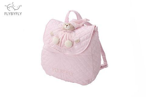 3d bear vintage backpack- pink .jpg