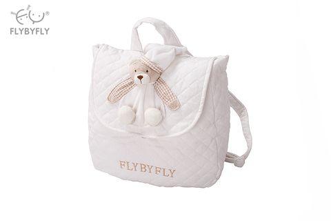 3d bear vintage backpack- white.jpg