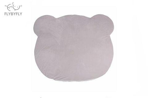 Bear Plush Floor Mat (Grey).jpg