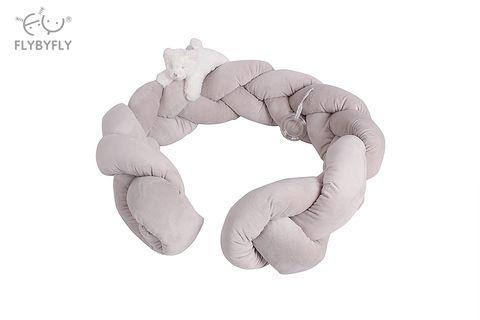 popo 3d bear crib bumper - grey.jpg