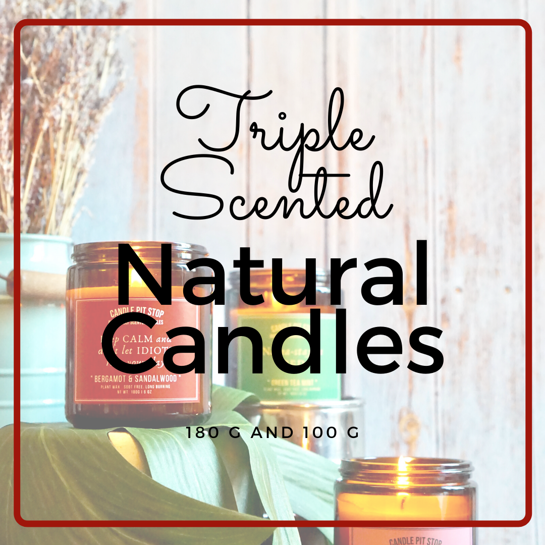 Triple Scented Natural Candles