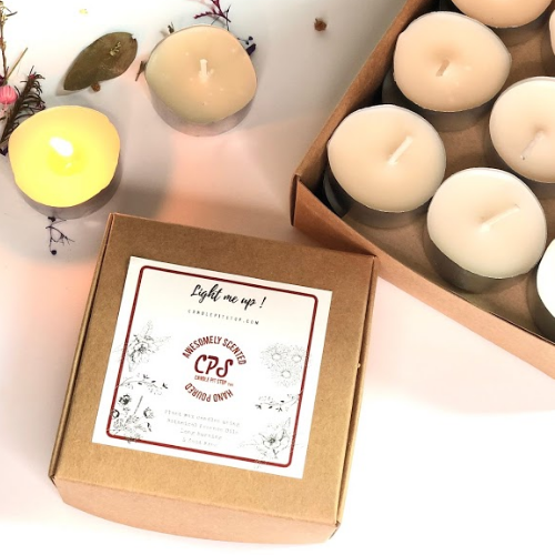Candle Pit Stop | Scented tea lights