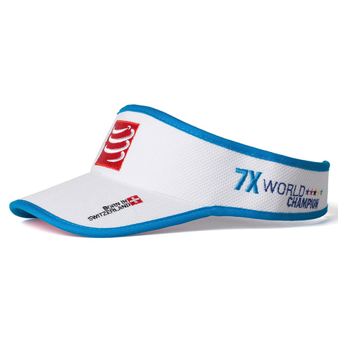 Anit-Sweat Run Visor (White Blue).jpg