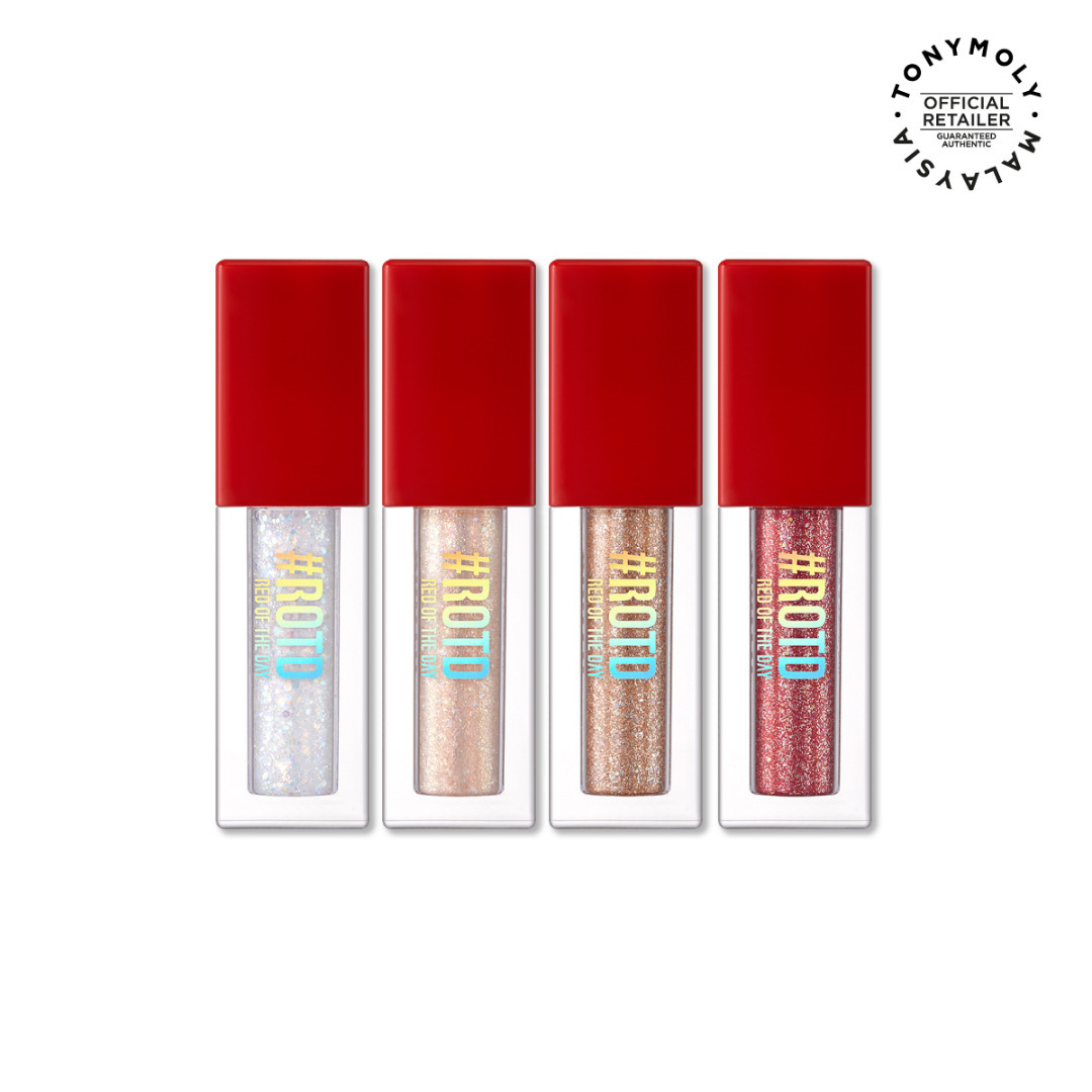 Perfect Eyes Sparkle Eye Glitter #ROTD Red Of The Day Edition