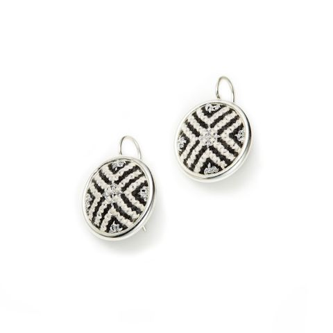 2. Silver Black Arabesque GLOW Statement Earrings (b).jpg