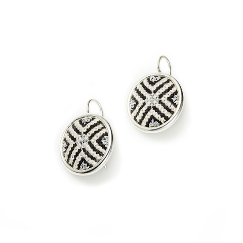 2. Silver Black Arabesque GLOW Statement Earrings (b).jpg