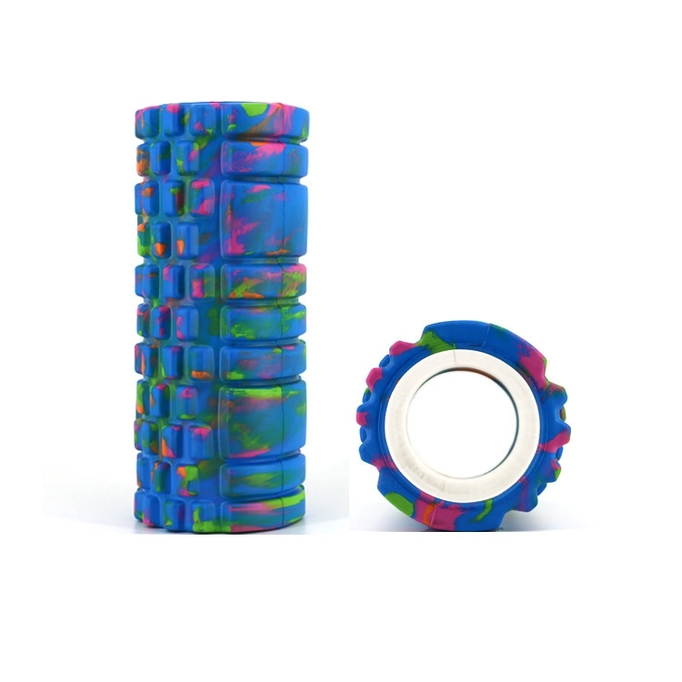 Camouflage EVA Foam Rollers Muscle Relaxation Massage Roller Skinny Calf Mace Yoga Column Roller
