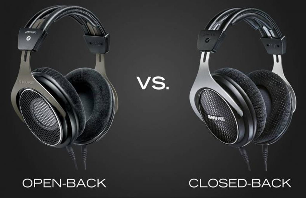 Trying to decide between Open Back and Closed Back Headphones?