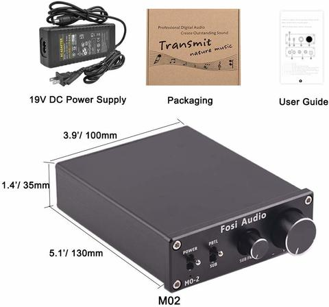 Fosi Audio M02 Home Audio Subwoofer Amp Contents Malaysia.jpg
