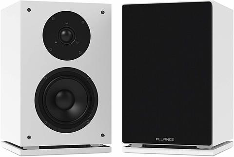 Fluance SX6WH Bookshelf Speakers Malaysia White.jpg