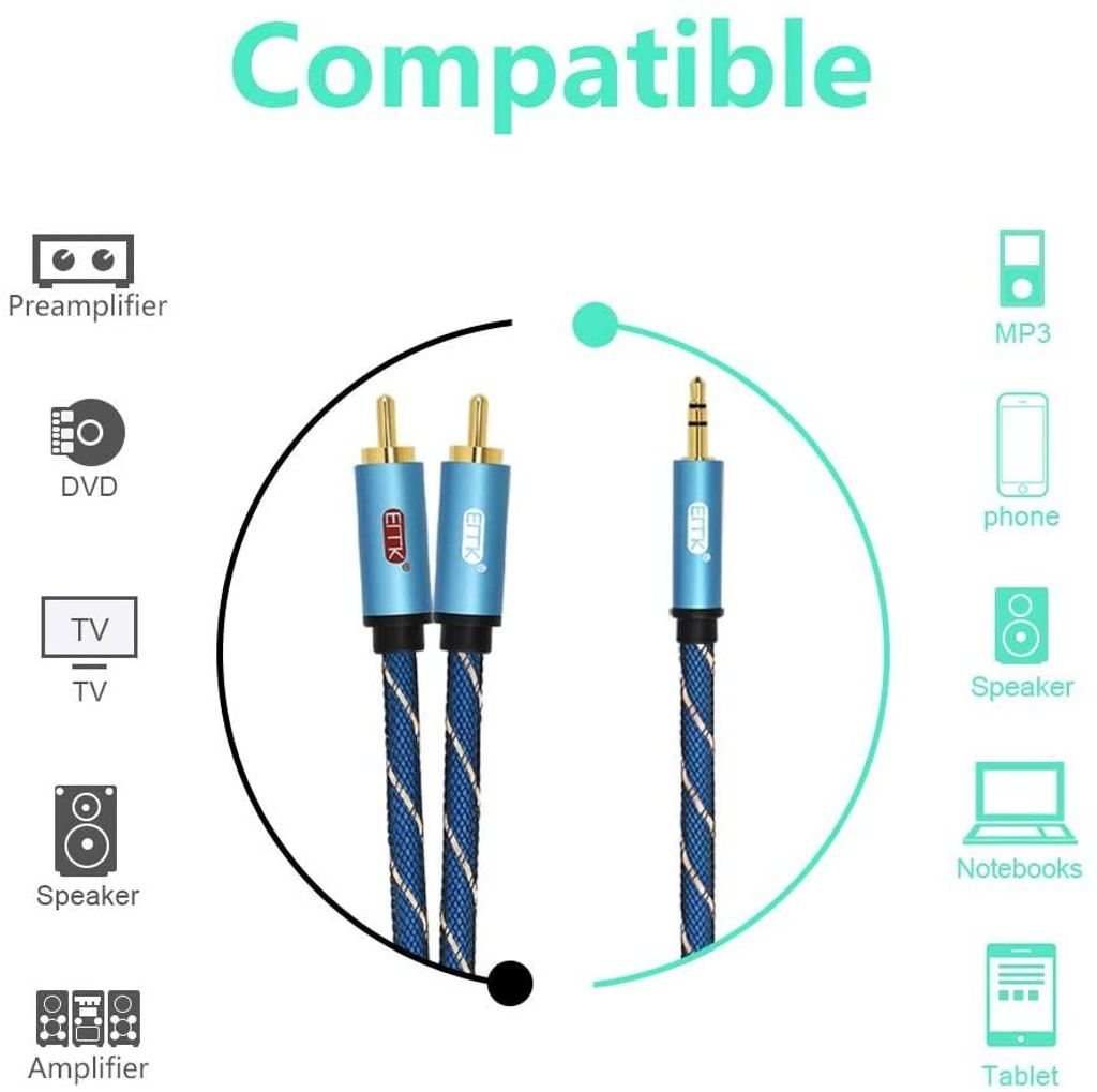 High Quality 3.5mm Aux to RCA Audio Cable Malaysia.jpg