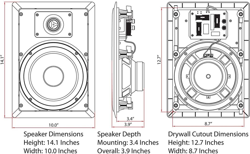 Micca M-8S In-Wall Speakers Dimensions Malaysia.jpg