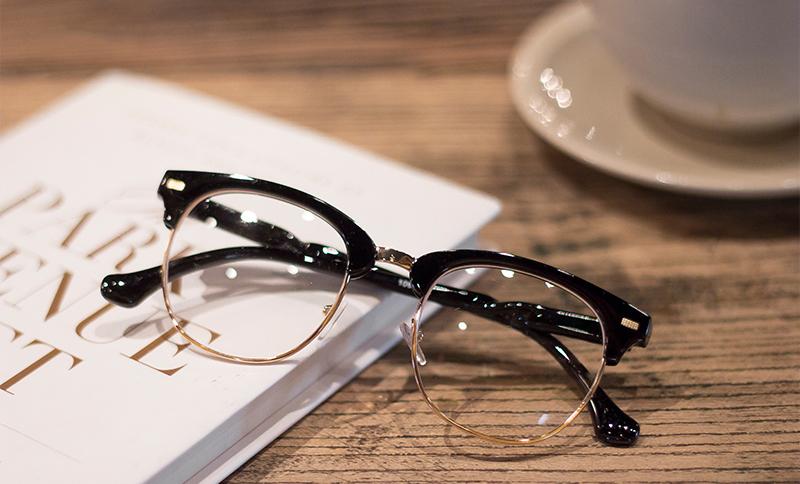 G-007 男/女款 半框/圓框 防藍光眼鏡